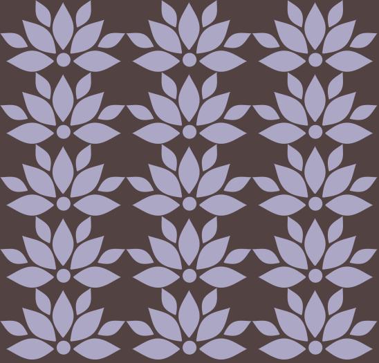 lotusmauves sur brun