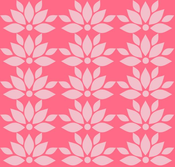 papier lotus fushia
