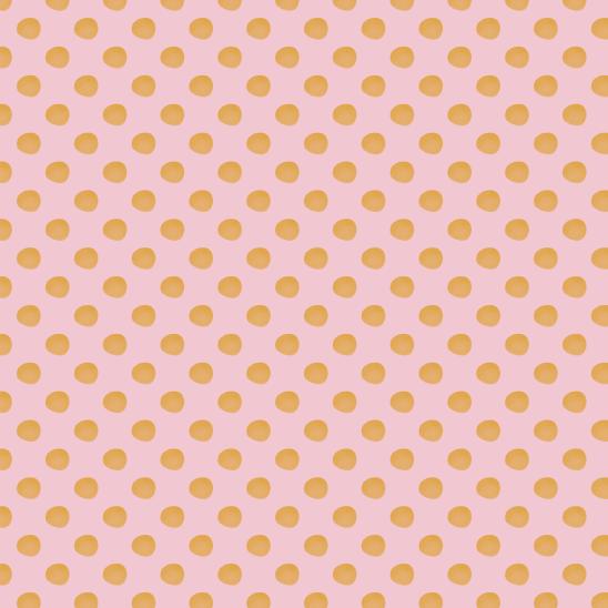 pois jaunes sur rose