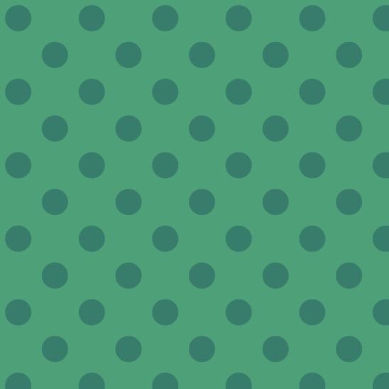 pois verts sur vert
