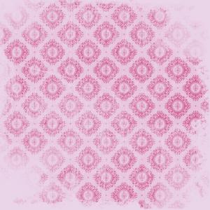 damas fushia sur rose