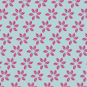 fleurs fushias sur bleu ciel