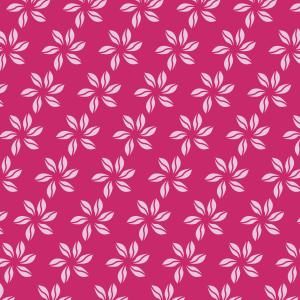 fleurs roses sur fushia