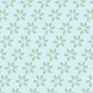 fleurs vert clair sur bleu ciel