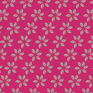 fleurs vert clair sur fushia