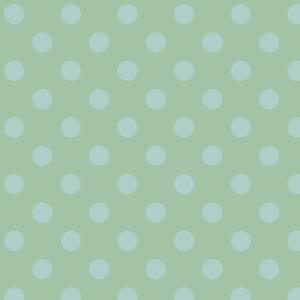 gros pois bleu ciel sur vert clair