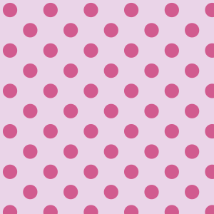 gros pois fushia sur rose clair