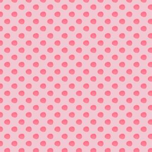 pois fushia sur rose
