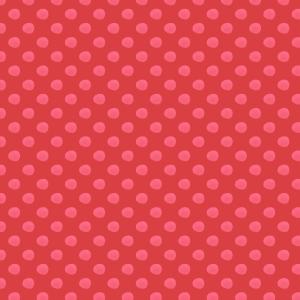 pois fushia sur rouge
