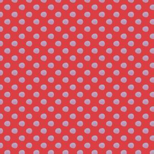 pois mauve rouge