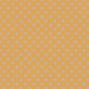 pois mauve sur jaune