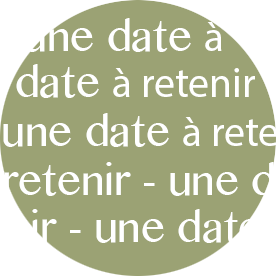 une date à retenir