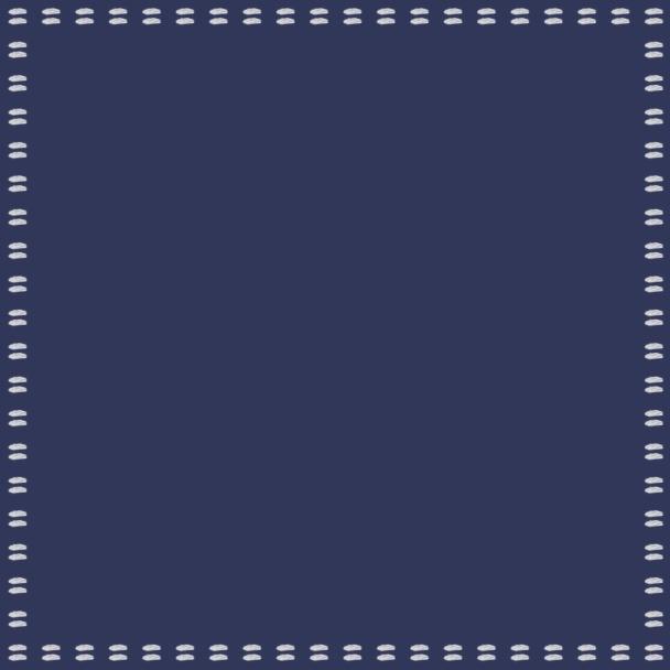 carré bleu blanc