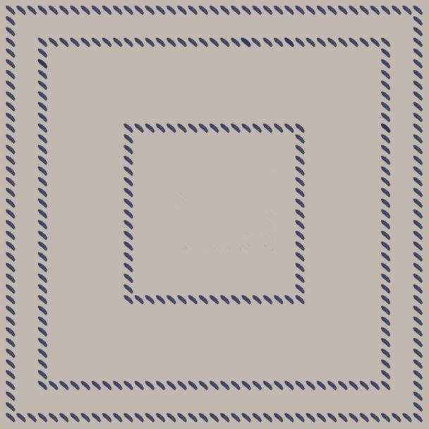 carré cousu