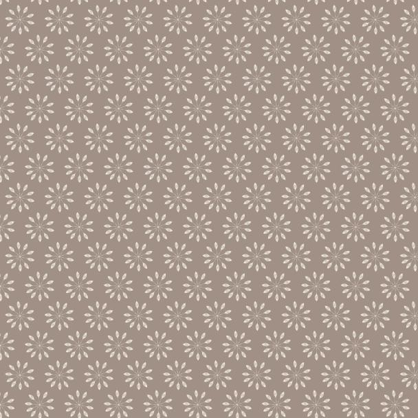 fleurs crème sur fond brun