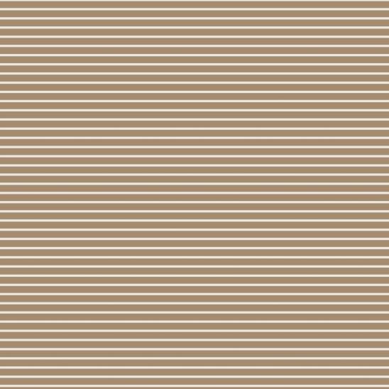 lignes crème sur brun