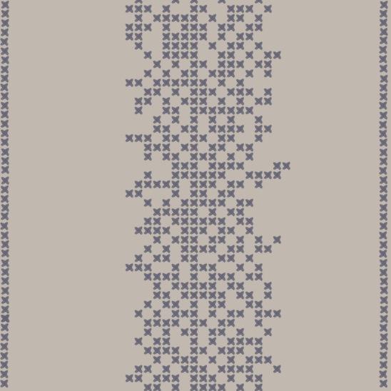 point de croix beige