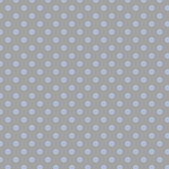 pois bleu ciel sur gris clair