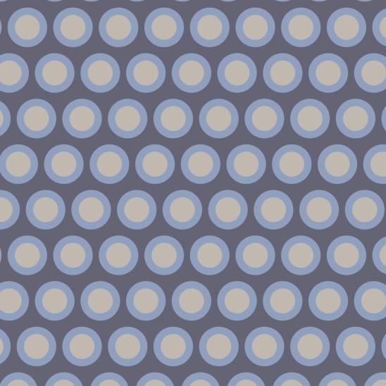 ronds sur gris