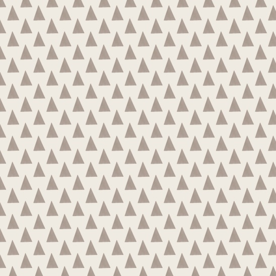 triangles brun sur beige