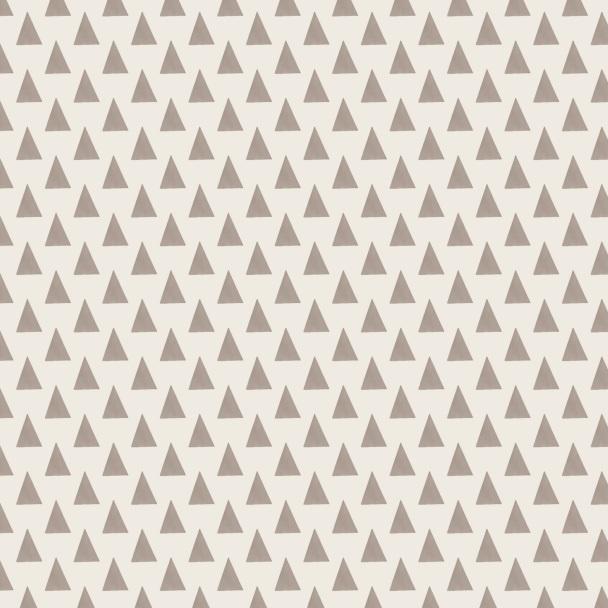 triangles brun sur beige