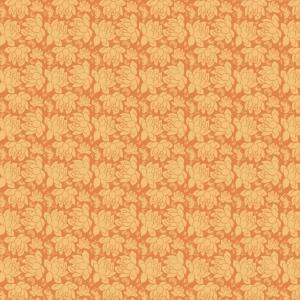 fleurs jaunes sur orange