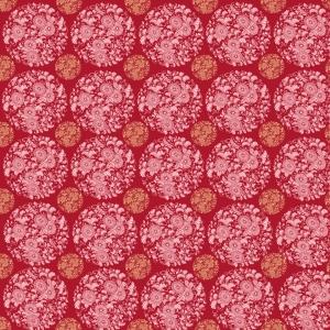 papier fleurs rondes