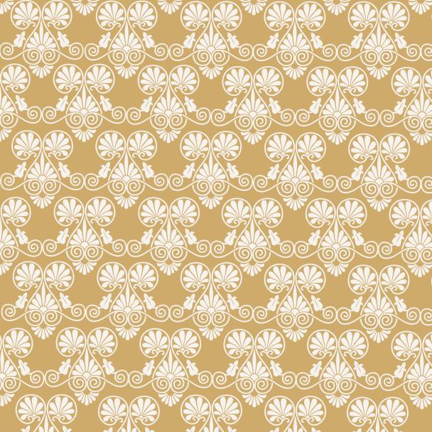 papier Noel blanc sur doré