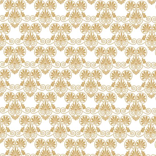 papier Noel doré sur blanc