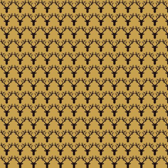 cerfs dorés
