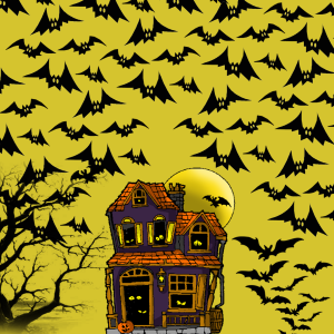 halloween chauves souris