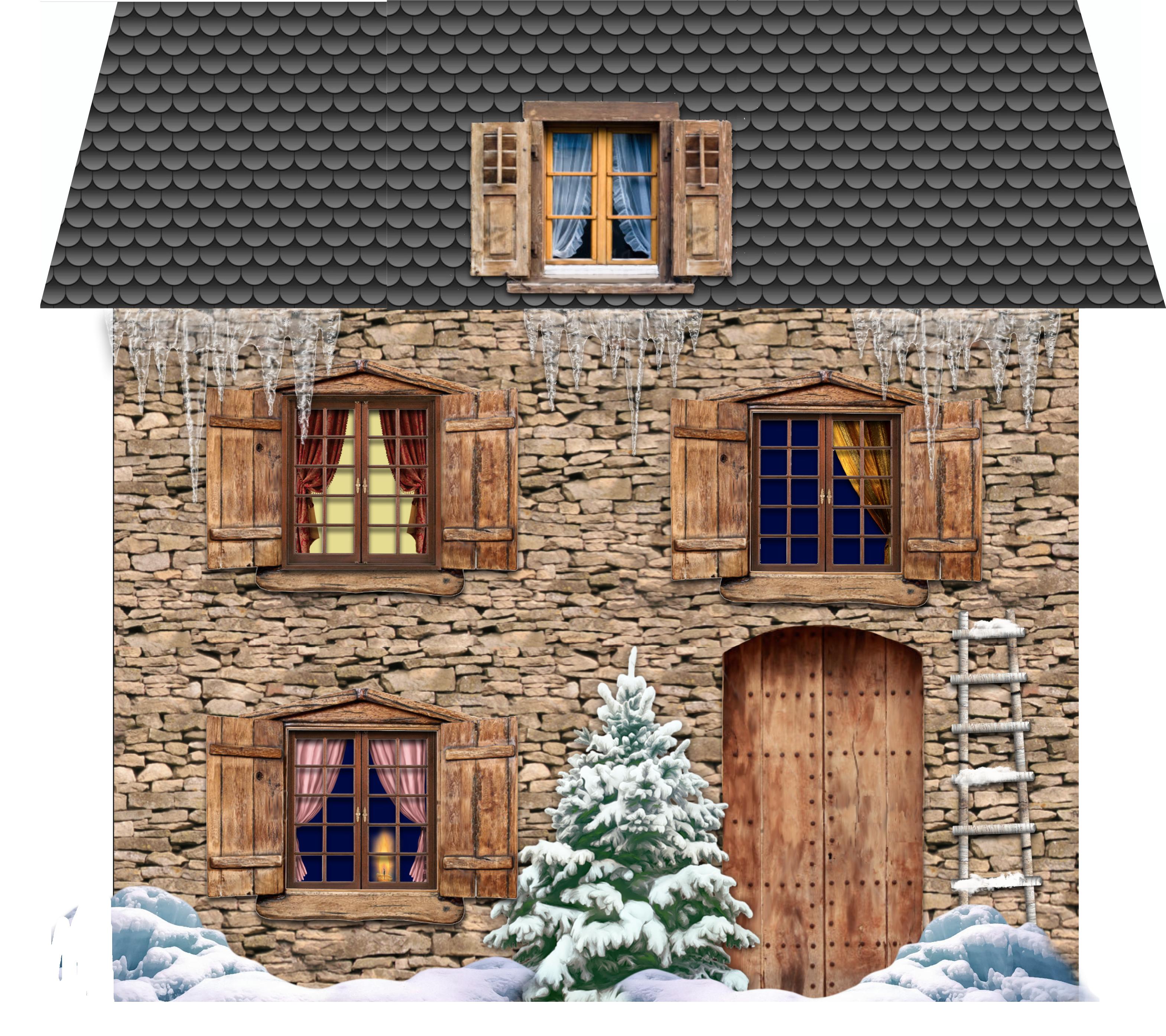 De nouvelles petites maisons de no l ou pas babanew - Petites images de noel ...
