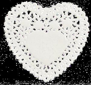 napperon coeur