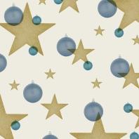 étoiles bl-d sur beige