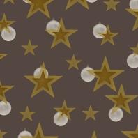 étoiles br d sur brun