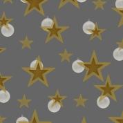 étoiles d bl sur gris