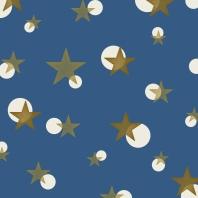 étoiles sur bleu