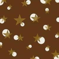 étoiles sur brun