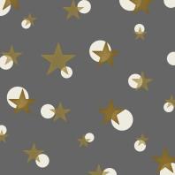 étoiles sur gris