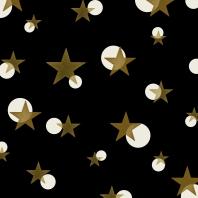 étoiles sur noir