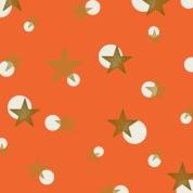 étoiles sur orange