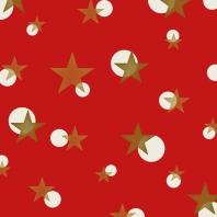 étoiles sur rouge