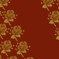 fleurs sur bordeau