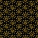 flocons dorés sur noir
