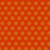 flocons dorés sur rouge