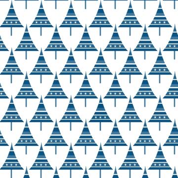 sapins bleus sur blanc