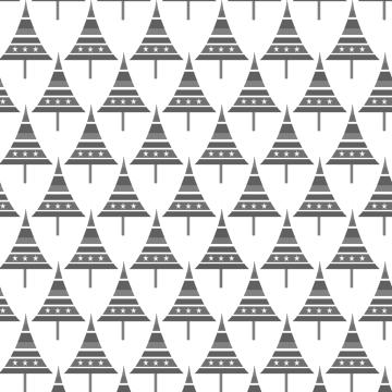 sapins p gris sur blanc
