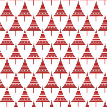 sapins p rouges sur blanc