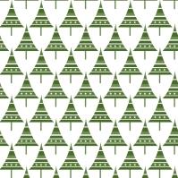sapins p verts sur blanc